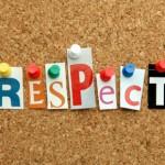 Respectul față de propria persoană