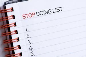 lista cu obiceiuri negative